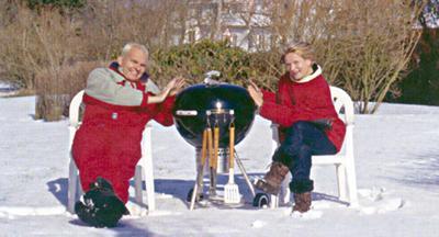 obrázek Weber grily na dřevěné uhlí